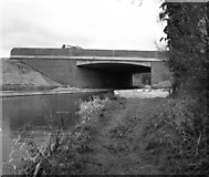 SU7451 : Odiham By-pass Bridge, Basingstoke Canal by Dr Neil Clifton