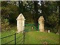 SX2677 : Gateposts, Trebartha by Derek Harper