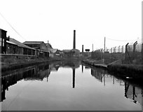 SJ7996 : Bridgewater Canal, Trafford Park, Manchester by Dr Neil Clifton
