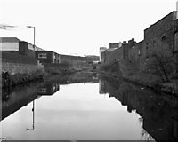 SJ8196 : Bridgewater Canal, Central Manchester by Dr Neil Clifton