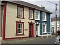 SN4563 : Two houses at the end of Victoria Street, Aberaeron by Humphrey Bolton