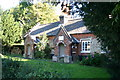 TF9519 : Charity cottages at East Bilney by Bill Sibley
