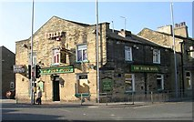 SE1734 : The Robin Hood - Otley Road by Betty Longbottom