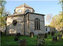 SK2375 : St Martins Stoney Middleton by Roger Temple