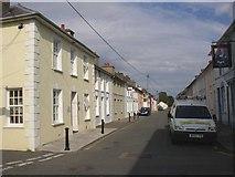 SN4562 : Victoria Street, Aberaeron by Humphrey Bolton