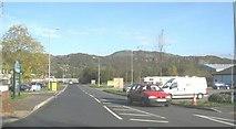 SH5638 : Service road on the Penamser Business Park by Eric Jones
