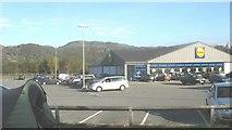 SH5638 : Lidl Supermarket, Penamser Road by Eric Jones