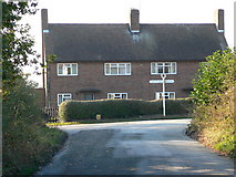 SJ4029 : Houses at the junction, Kenwick Park by Eirian Evans