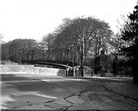 SJ9689 : A626 road Bridge, Peak Forest Canal, Marple by Dr Neil Clifton