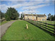 SD7657 : Heath Farm by Chris Heaton