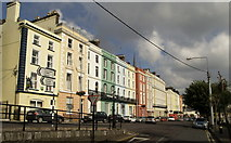 W7966 : Colourful Houses at Cobh by Andy Beecroft
