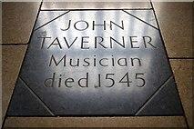 TF3244 : Grave of John Taverner by Tiger