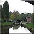 SJ9151 : Stockton Brook Top Lock,  Caldon Canal, Staffordshire by Roger  Kidd