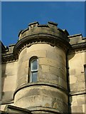 SK2957 : Turret at Willersley Castle, Cromford by J147