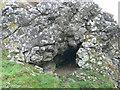 SK0667 : Limestone outcrop on Chrome Hill by Eirian Evans
