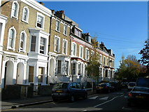 TQ3075 : Houses on Dalyell Road, SW9 by Danny P Robinson
