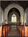 TG4612 : St Mary's Church, Thrigby - view east by Evelyn Simak