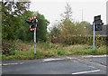 SJ9253 : Disused Railway, Endon, Staffordshire by Roger  Kidd