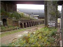 TQ3084 : Approaching Kings Cross on the East Coast main line by Steve  Fareham