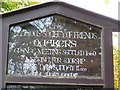 H8458 : Plaque, Religious Society of Friends by Kenneth  Allen