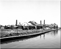 SJ6775 : Lion Salt Works, Trent and Mersey Canal by Dr Neil Clifton