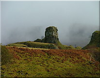 NG4162 : Castle Ewen by Dave Fergusson