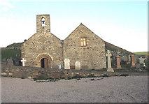 SH1726 : Eglwys Hywyn Sant, Aberdaron by Eric Jones