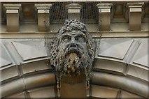 J3474 : Head, Custom House, Belfast (6) by Albert Bridge