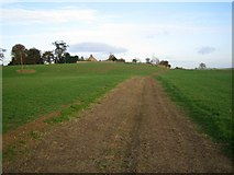 SE5971 : Unmapped earth track near Spellar Park by Phil Catterall