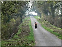 SP5682 : Cycling along Swinford Road by Mat Fascione