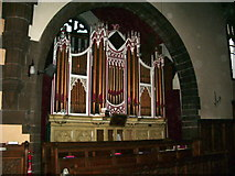SJ5798 : St Thomas Church, Ashton-in-Makerfield, Organ by Alexander P Kapp