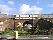 SU3521 : Mini Railway bridge, Romsey by Rosemary Oakeshott