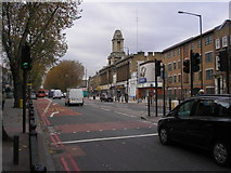 TQ3581 : Mile End Road, East London by Dr Neil Clifton