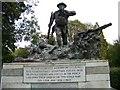 NS5666 : War memorial in Kelvingrove by Elliott Simpson