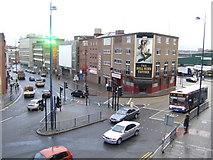 SP0786 : Park Street and Moat Lane, Digbeth, Birmingham by Jonathan Billinger
