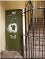NT2673 : Graffiti at 242 The Royal Mile by Simon Johnston