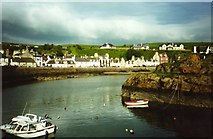 NW9954 : Portpatrick harbour by Graham Horn