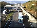 TQ0085 : M40 Motorway Junction 1a by Nigel Cox