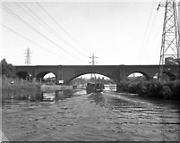 SK5702 : Twelve Arches Viaduct, Soar Navigation, Leicester by Dr Neil Clifton