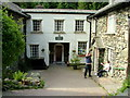 NY3617 : Entrance to Helvellyn Youth Hostel by George Tod
