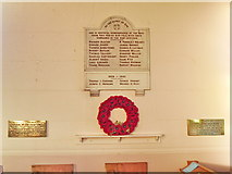 SD4455 : Christ Church, Glasson, War Memorial by Alexander P Kapp