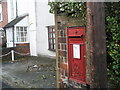 SU5706 : Postbox in Gordon Road by Basher Eyre