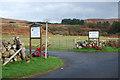 NR8835 : Entrance to Auchencar Farm by Colin Chambers