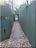 TQ7668 : Footpath, Brompton by Danny P Robinson
