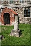 TA3719 : Churchyard Cross by Richard Croft
