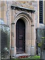 NY9365 : South door, St. John Lee by Mike Quinn