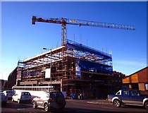 J3271 : Construction site, Lisburn Road by Rossographer