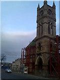 NS3975 : Facade of former Dumbarton Burgh Hall by Stephen Sweeney