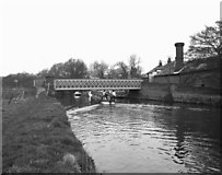 SU9946 : Broadford Bridge, River Wey, Surrey by Dr Neil Clifton