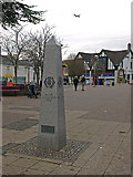 NS5574 : Town Centre, Milngavie by wfmillar